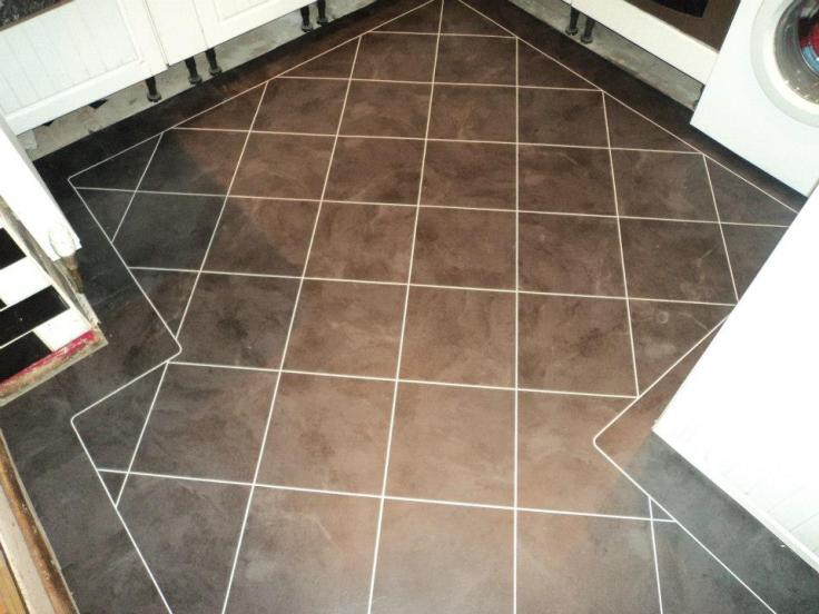 Andy Carpets & Flooring - Camaro Atlantic Slate with Ice grouting strip