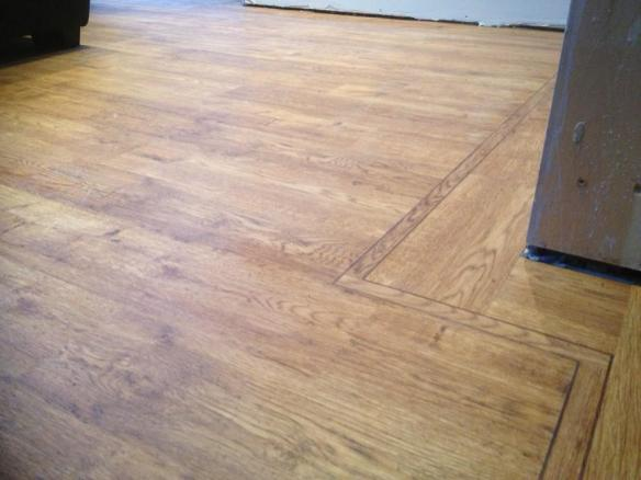 Cre8tive Flooring - Camaro Vintage Timber with perimeter strips