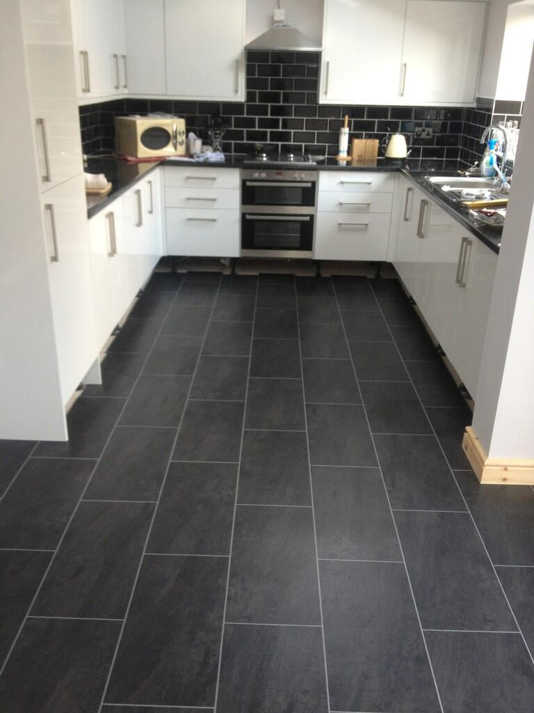 Customer installations twitter feed polyflor at home jason hughes colonia welsh raven slate dailygadgetfo Images