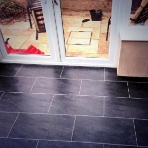 Flooring by Ben Rule - Colonia Welsh Raven Slate