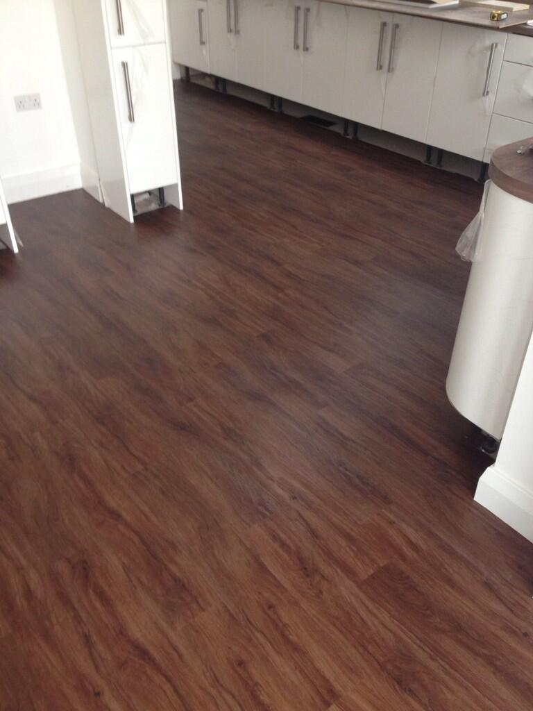 We love sharing customer installations polyflor at home for Flooring america