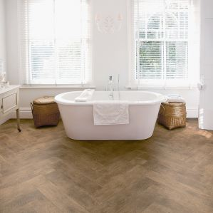 Antique Herringbone (Polyflor Secura)