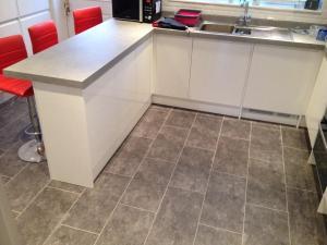 D Evans Flooring - Expona Design Silver Slate