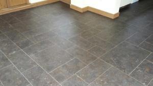 4 Floor Fittings - Camaro Tile Ocean Slate (2319) 2