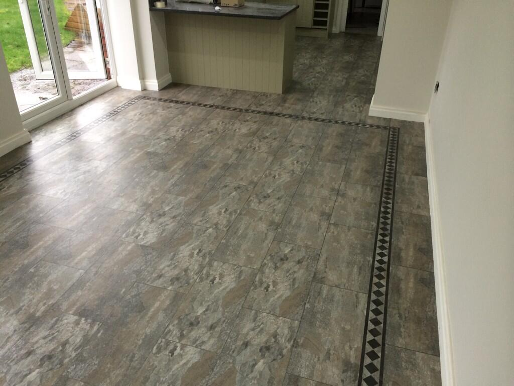 May 2014 polyflor at home barratt hughes flooring specialist camaro ocean slate 2319 with greek key border dailygadgetfo Gallery