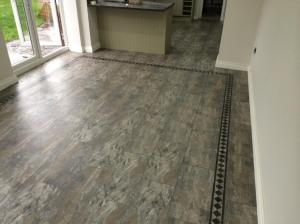 Barratt & Hughes Flooring Specialist - Camaro Ocean Slate (2319) with Greek Key Border 4