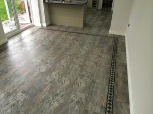 Barratt & Hughes Flooring Specialist - Camaro Ocean Slate (2319) with Greek Key Border 3