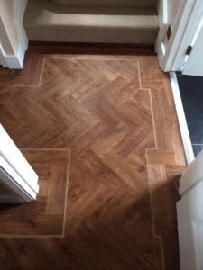 Flooring Megastore - Expona Wood Vintage Timber (4091) - Specially cut for herringbone effect 1