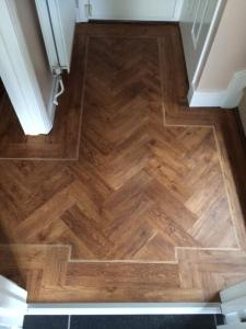 Flooring Megastore - Expona Wood Vintage Timber (4091)  - Specially cut for herringbone effect 3