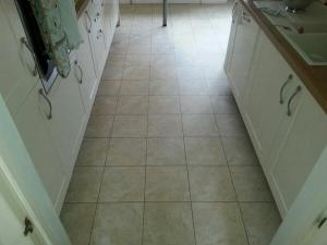 LT Flooring - Camaro Yorkstone (2336) with Oak Grouting Strip