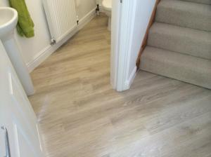 Deben Carpets - Colonia New England Elm (4433) with Pearl Grouting Strip (2033) 2