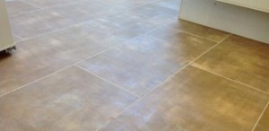 Eastcote Flooring - Colonia Glazed Metalstone (4533) with Pearl Feature Strip