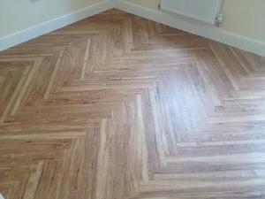 LK Flooring - Camaro American Oak (2217) herringbone 1