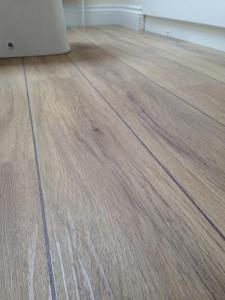 SP Carpets and Flooring - Colonia Nordic White Oak (4436) with Graphite Grouting Strip (2039)