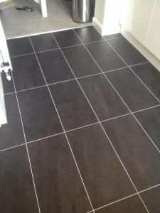 CPS Flooring - Colonia Welsh Raven Slate 4535 with Ice Grouting Strip 2031
