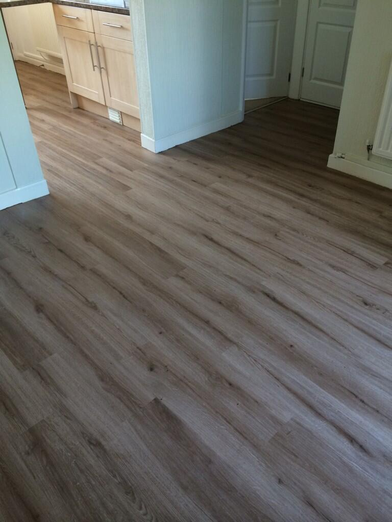 Embossed Polyflor At Home