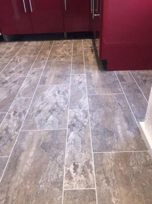 Camaro Ocean Slate 2319 with Ice 2031 grouting strip (Paul's Floors)