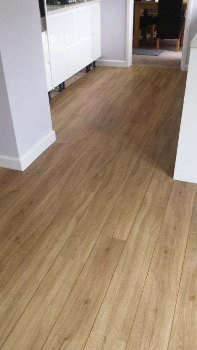 Bristol Flooring, Colonia English Oak 4435 with Classic Oak Marquetry Strip
