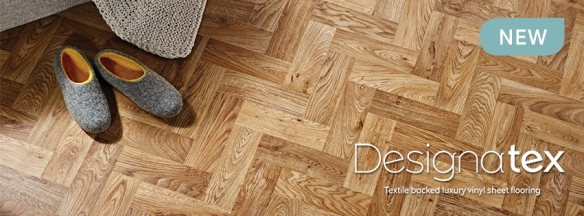 Designatex luxury sheet vinyl tile