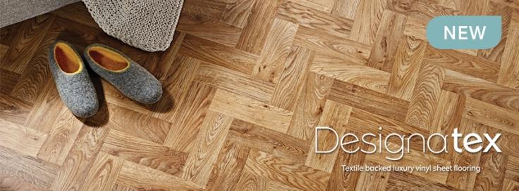 Designatex luxury sheet vinyl tile