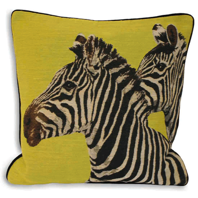Twin Zebra Cushion, £19.95 from Dwell.