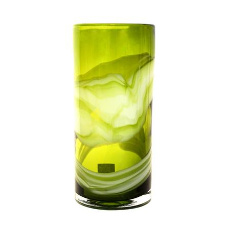 Key Lime Collection Glass Swirl Vase, £19.99 from Dunelm Mill