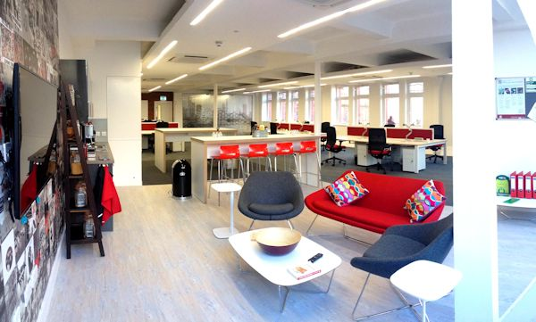 Couchbase office in Manchester
