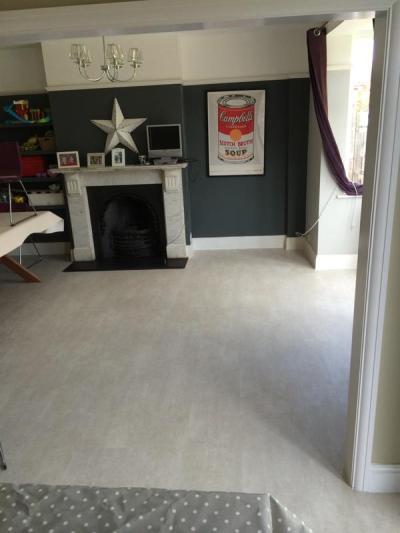 S & M Flooring, Camaro Portico Limestone 2334