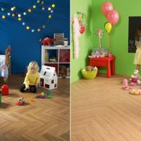 Playtime with Vinyl Flooring