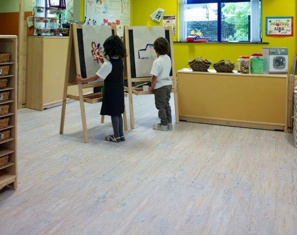 Camaro White Limed Oak flooring at Little Sparkles Nursery