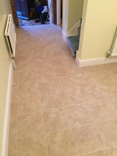 Flooring by Kimpton, Camaro Classic Yorkstone with Pearl grouting strip