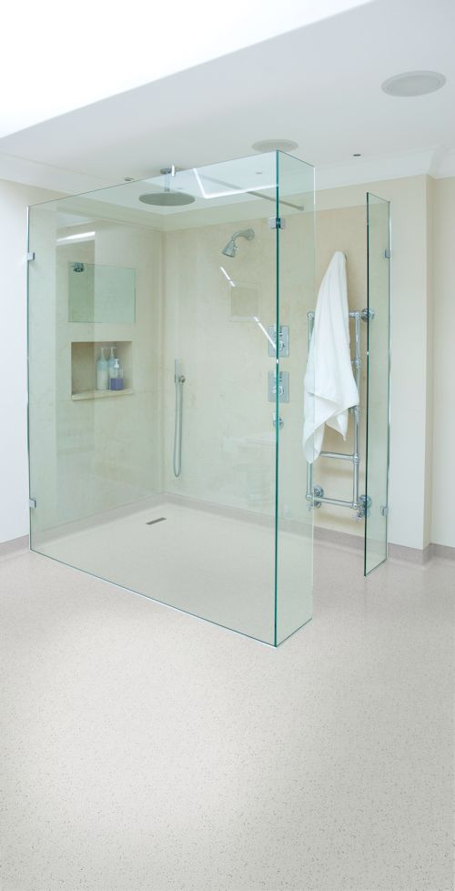 Shower room featuring Polysafe Hydro Evolve in Colorado