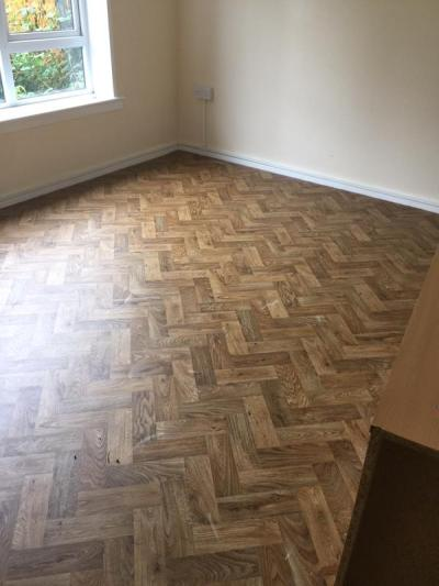 Brighton & Hove Flooring, Designatex English Oak Parquet