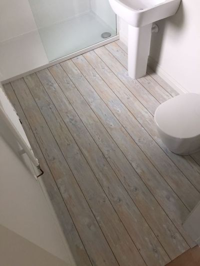 Coastal Carpets, Camaro White Limed Oak with Walnut Marquetry Strip