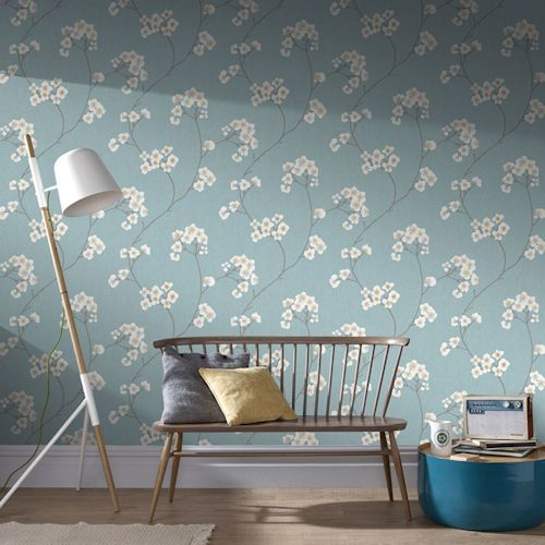Graham Brown wallpaper, £15 a roll