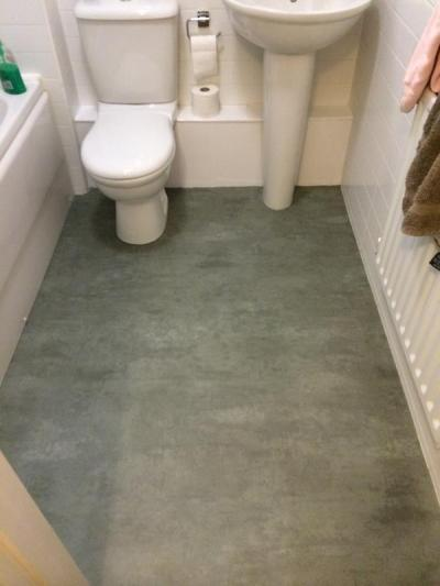 S&M Flooring, Secura Polished Concrete