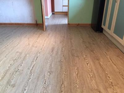 Trevor Smith Flooring, Camaro Loc in Hickory Oak