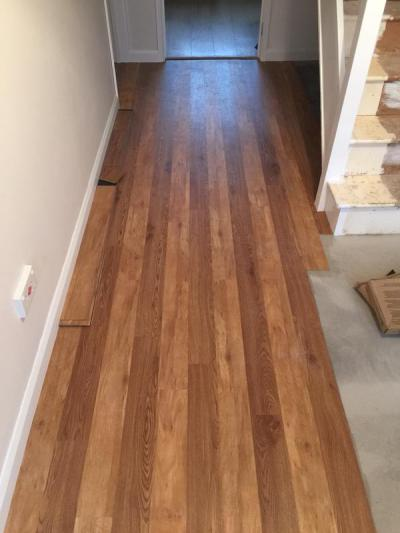 Featherby Flooring, Colonia Virginia Walnut and Schoolhouse Oak