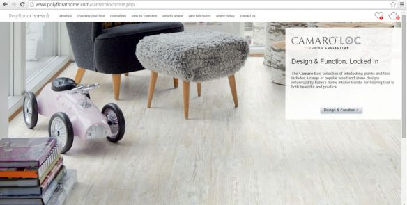 Camaro Loc on Polyflor at Home website