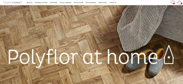 Polyflor at Home website