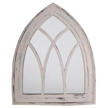Wooden Gothic Arch Mirror, Not On The High Street, £50