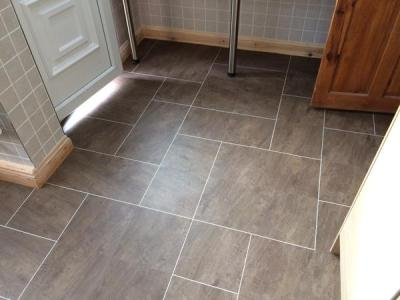 Barratt & Hughes Colonia Quarried Millstone with Ice grouting strip