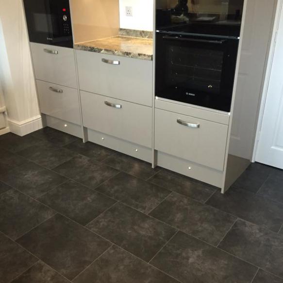 Cre8tive Flooring, Secura Black Slate