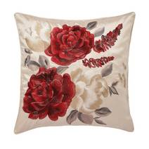 Embroidered Rose cushion, £9.99 from Dunelm Mill