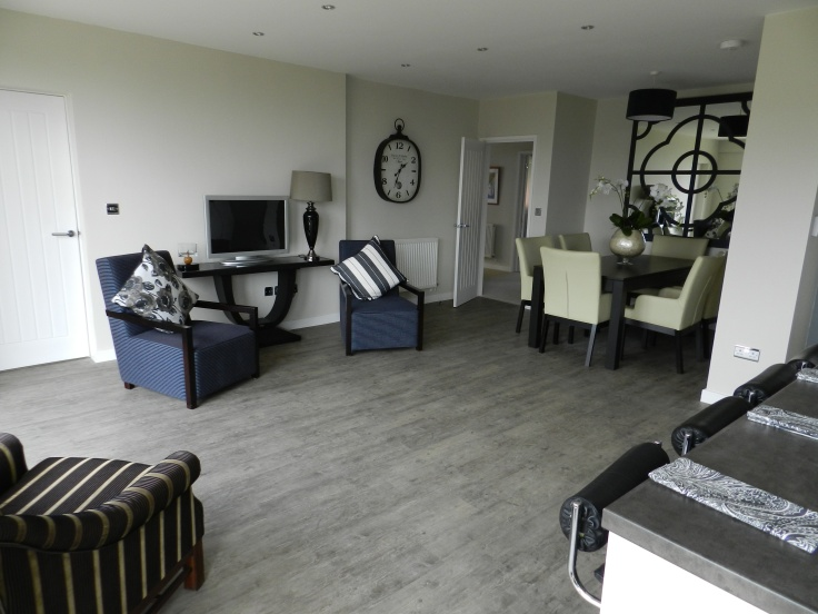 Pen-y-fai Lane, Llanelli featuring Camaro luxury vinyl tiles in Smoke Brushed Elm