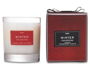Winter luxury fragranced candle, £10 from Next