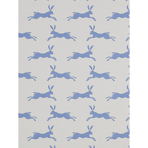 Jane Churchill March Hare Wallpaper, £48 a roll, John Lewis