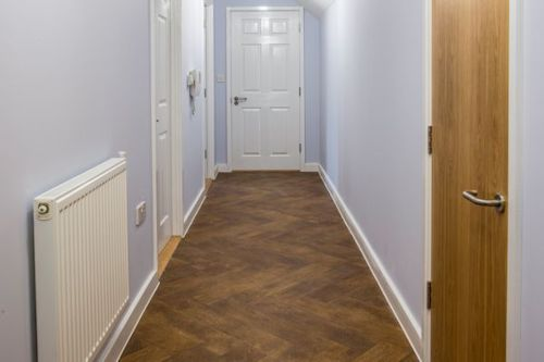 Secura Antique Herringbone at New Road Court, Bridgend