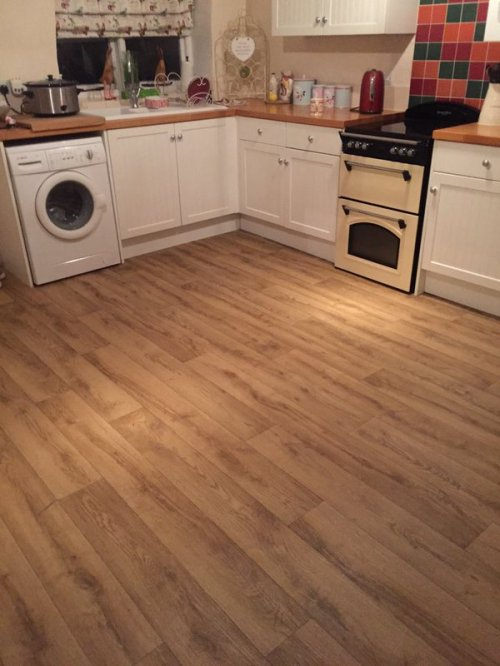 SL Design Floor, Designatex Sicilian Oak