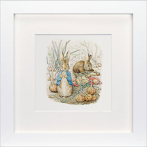 Beatrix Potter Peter Rabbit and Benjamin Bunny framed print, John Lewis, £25.00